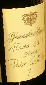Gonzalez Byass Palo cortado 1994